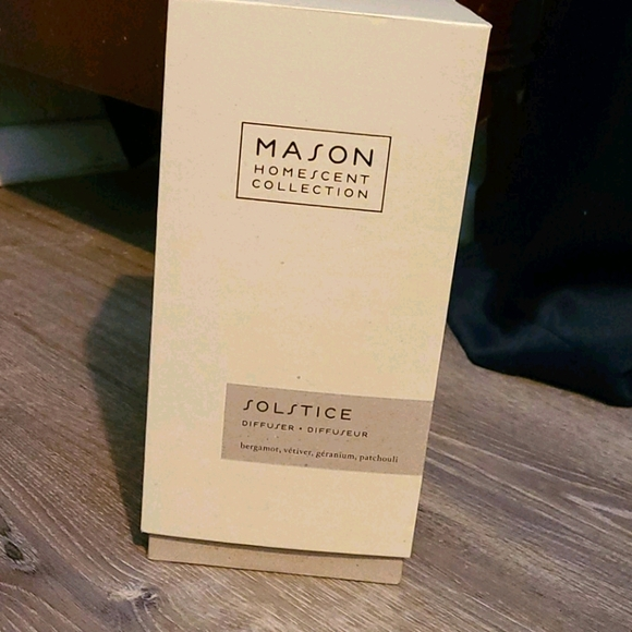 Mason homescent collection- solstice